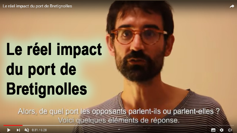 Le réel impact du port de Bretignolles/mer