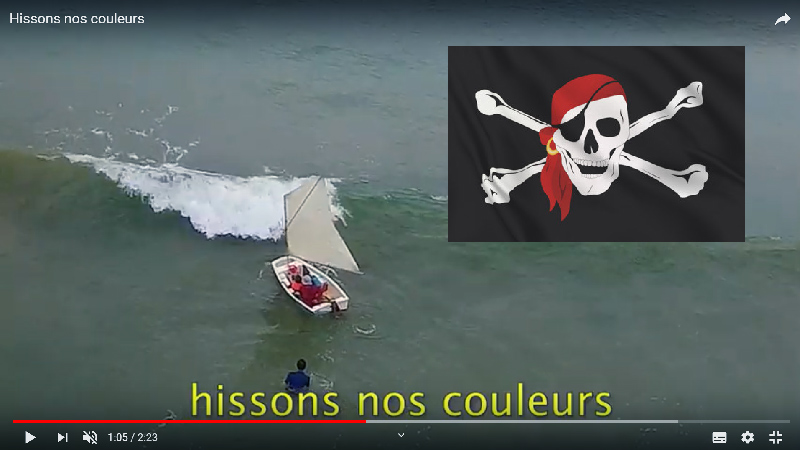 Hissons nos couleurs
