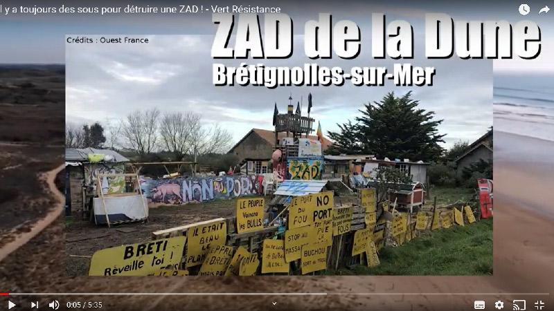 Il y a toujours des sous pour détruire une ZAD!