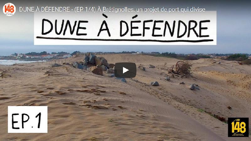 Dune à défendre – À Brétignolles, un projet de port qui divise